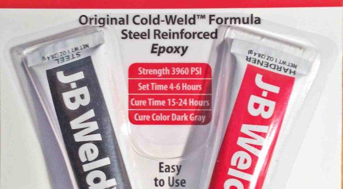 JB Weld Steel Epoxy 8265-H Review