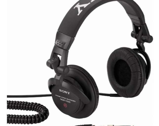 Sony MDR-V500 Studio Monitor Headphones Review