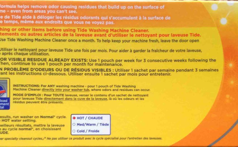 How to Use Tide Washing Machine Cleaner