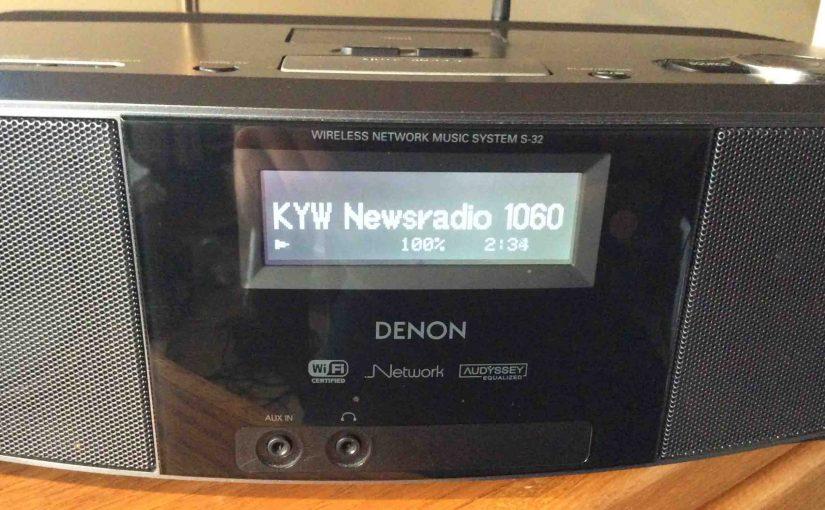 How to Connect WiFi on Denon S 32 Internet Radio