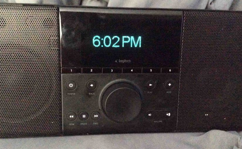 Logitech Squeezebox Boom Review, WiFi Internet Radio