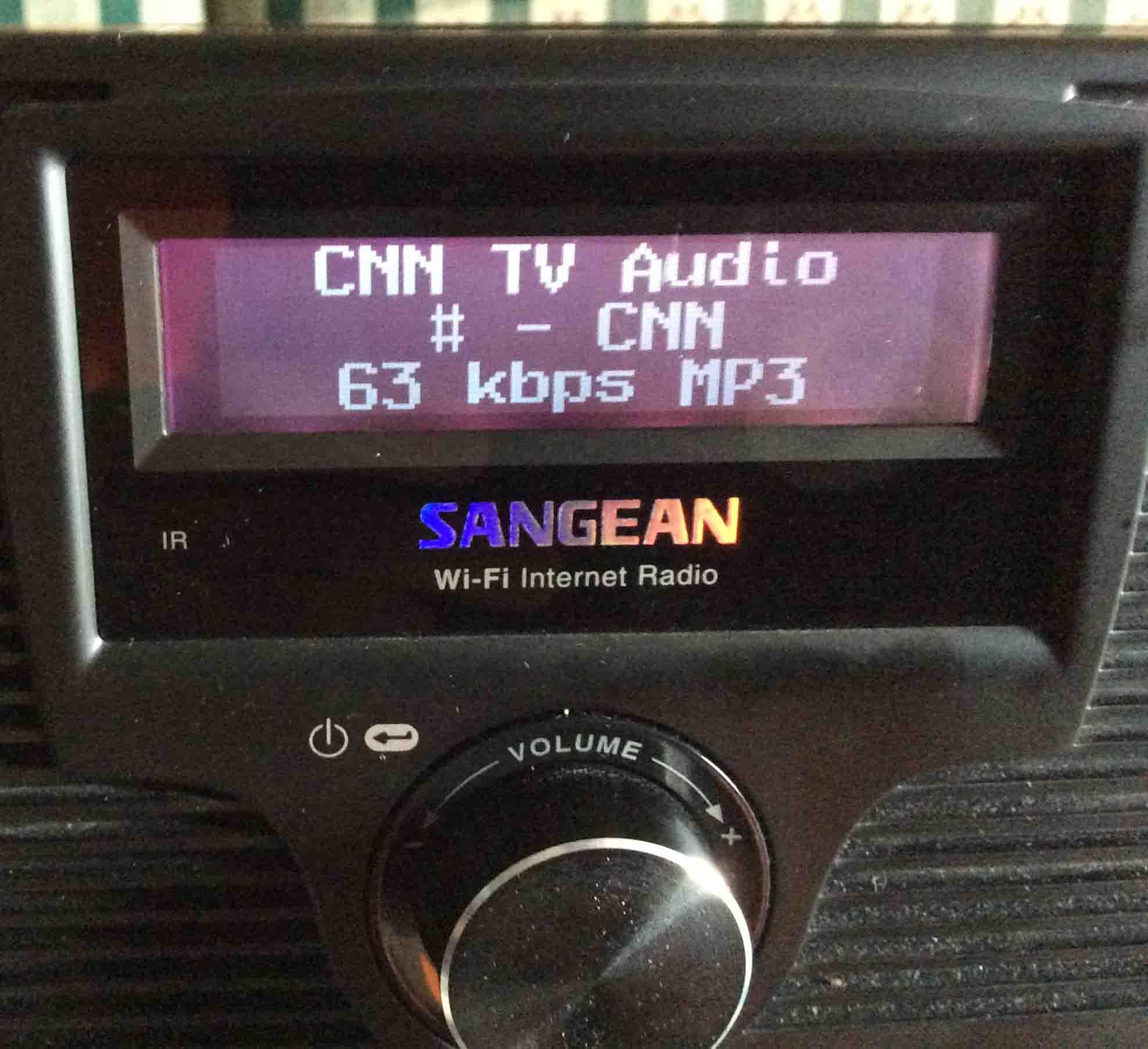 How to Change WiFi on Sangean WFR 20 Internet Radio | Tom's Tek Stop