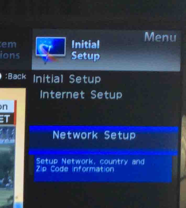 Changing WiFi on Sharp Aquos TV Instructions | Tom's Tek Stop