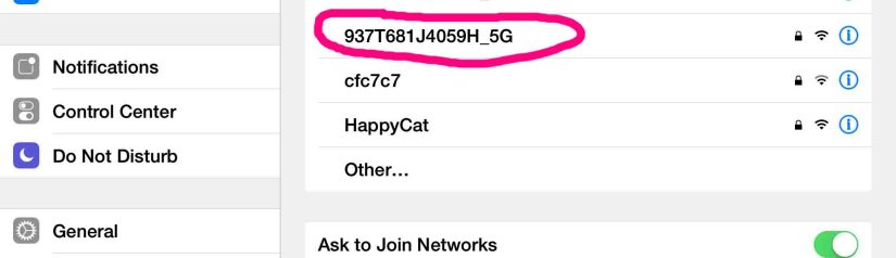 How to Change WiFi Network on iOS Devices, iPhone, iPod, iPad
