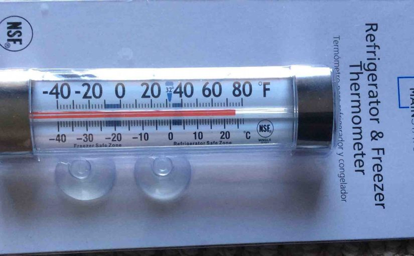 Mainstays G761 Thermometer Review, Fridge Freezer