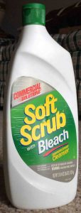 Picture of Soft Scrub Commercial Solutions Disinfectant Cleanser with Bleach, 36 ounce bottle,