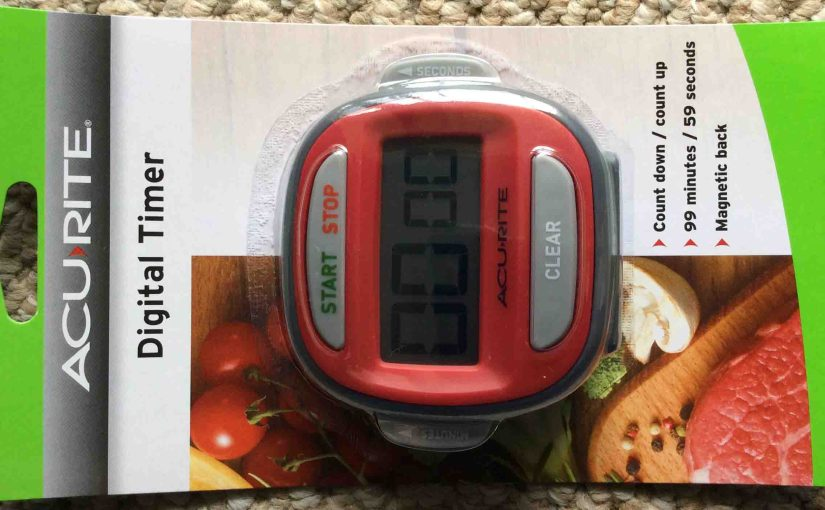 Acurite 00291E Kitchen Timer Review