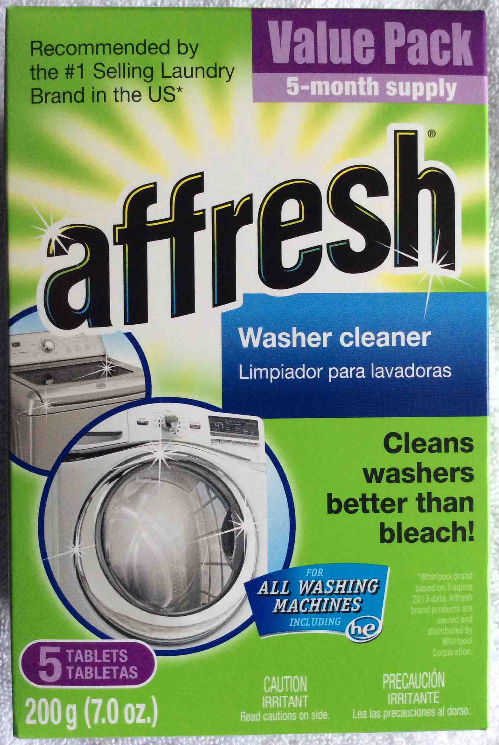 Affresh Washer Cleaner Review for HE Washing Machines Toms Tek Stop