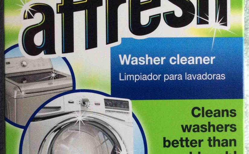 Affresh Washing Machine Cleaner Directions