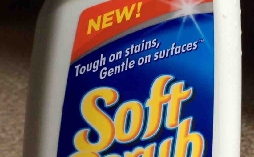 Soft Scrub Oxi Cleanser Bathroom Cleaner Review
