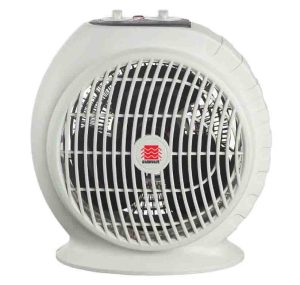 Fixing noisy portable fan heaters. Picture of the WarmWave 1500 Watt Portable Fan Heater, front view.