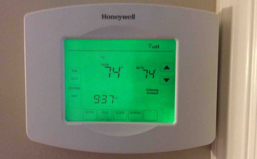 How to Reset Honeywell Thermostat RTH8580WF to Factory Default