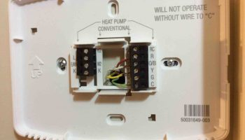 honeywell thermostat 4 wire wiring diagram
