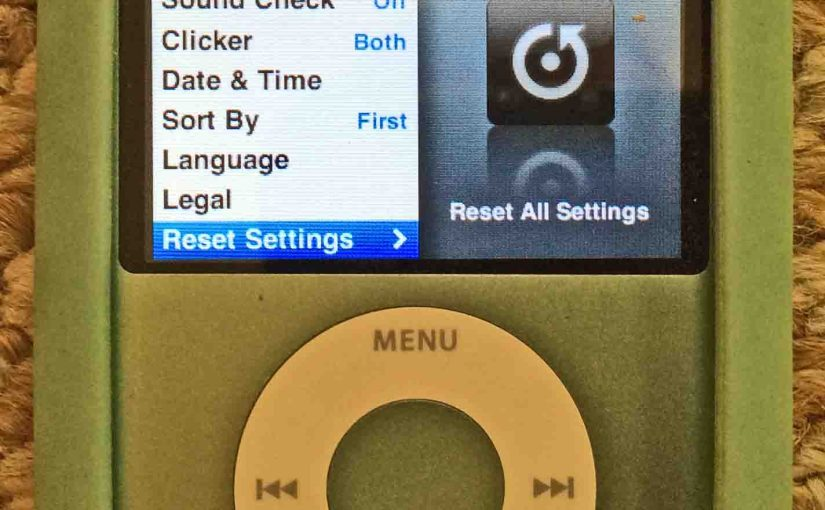 How to Erase iPod Nano 3rd Generation Player