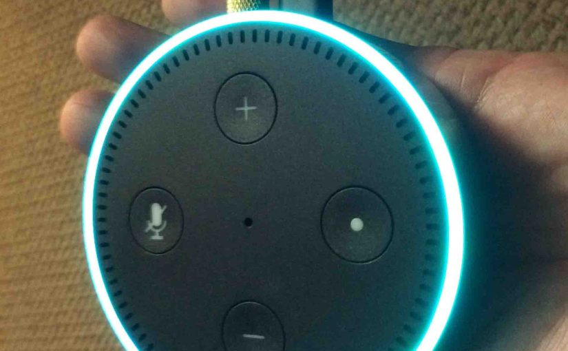 Changing WiFi Network on Amazon Echo Dot Gen 2 Smart Speaker