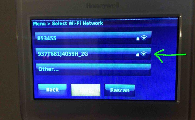 Honeywell WiFi Thermostat Troubleshooting Help
