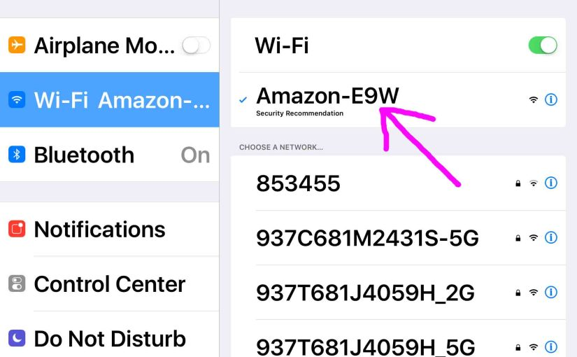How to Connect Alexa to New WiFi Network, 2018 Version