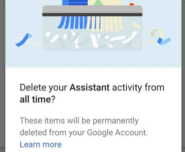 Delete Google Home Recordings, How To