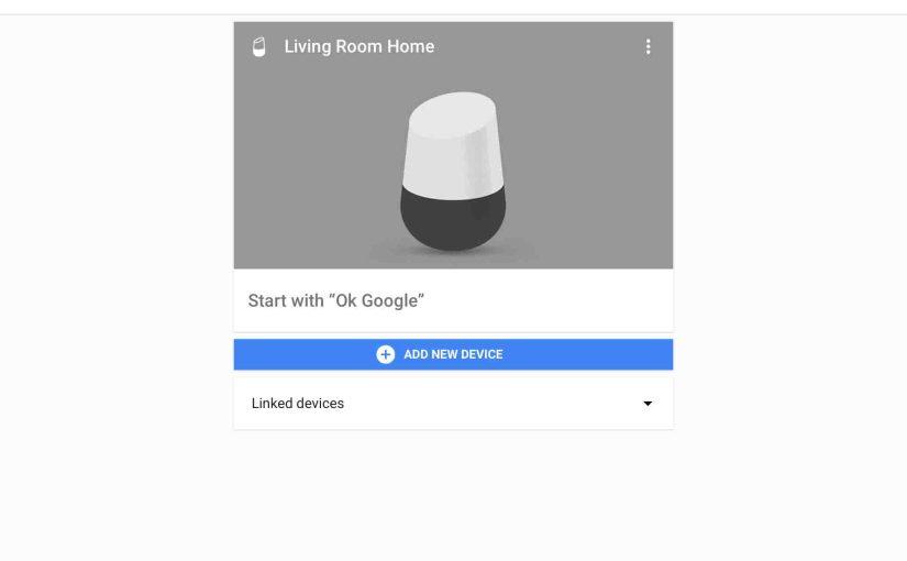 How to Pair Original Google Home Smart Speaker as a Bluetooth Speaker