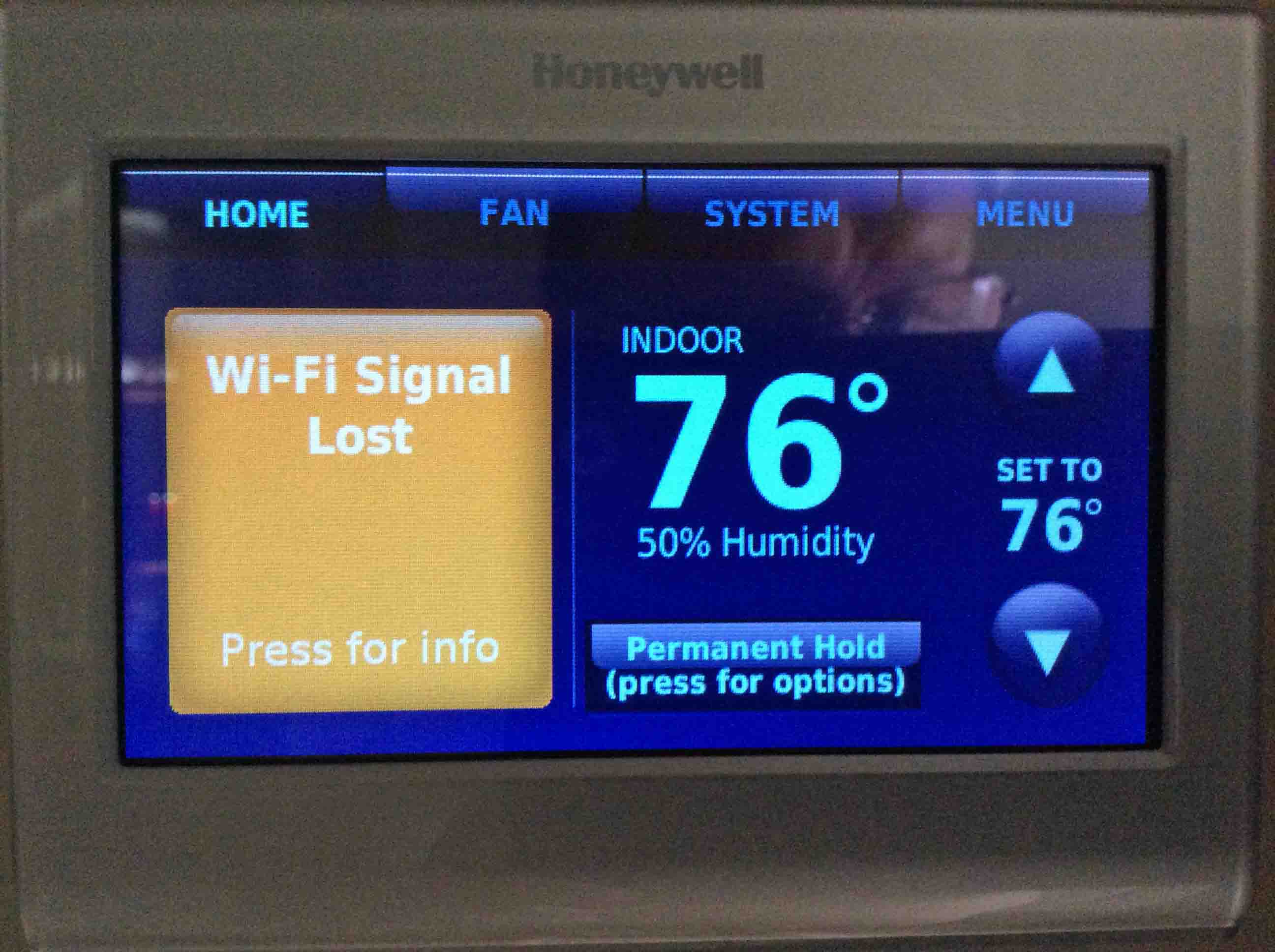 How to Fix Honeywell WiFi Thermostat Connection Failure   Tom's ...