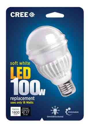 CREE 100w LED Soft White Dimmable Bulb Review