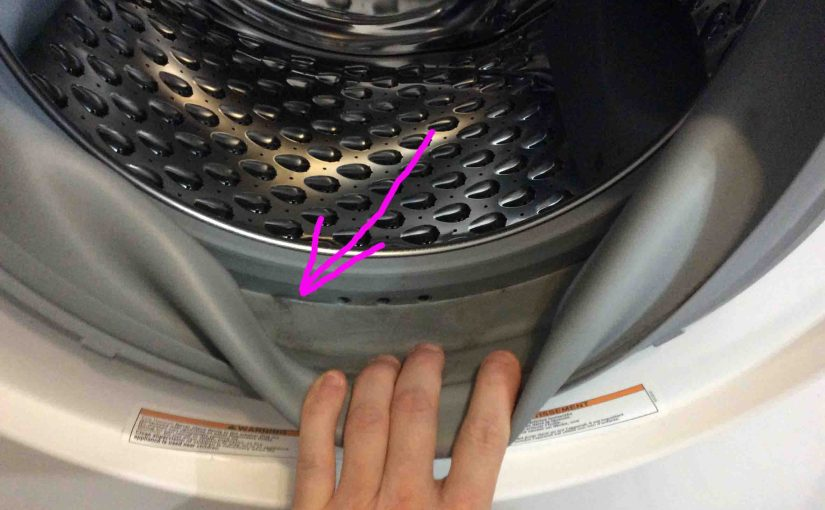 How to Clean Door Seal Gasket on Front Loader Washing Machine