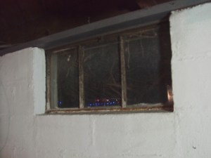 How to install glass block windows. Picture of the old basement window 3 to be replaced.