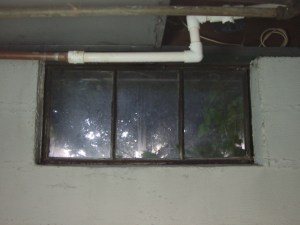 How to install glass block windows. Picture of the old basement window 4 to be replaced.