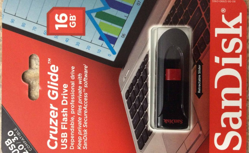SanDisk® Cruzer Glide™ 16 GB USB 2.0 3.0 Flash Drive Review