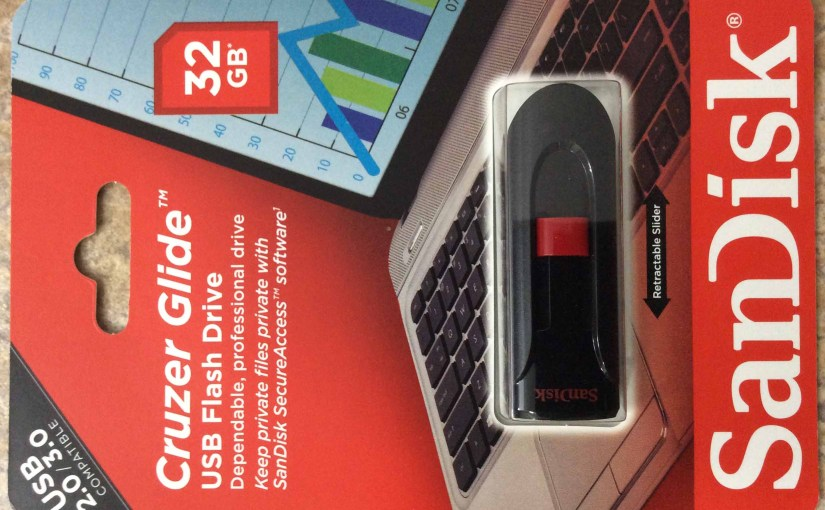 SanDisk USB Flash Drive, Cruzer Glide 32 GB Review