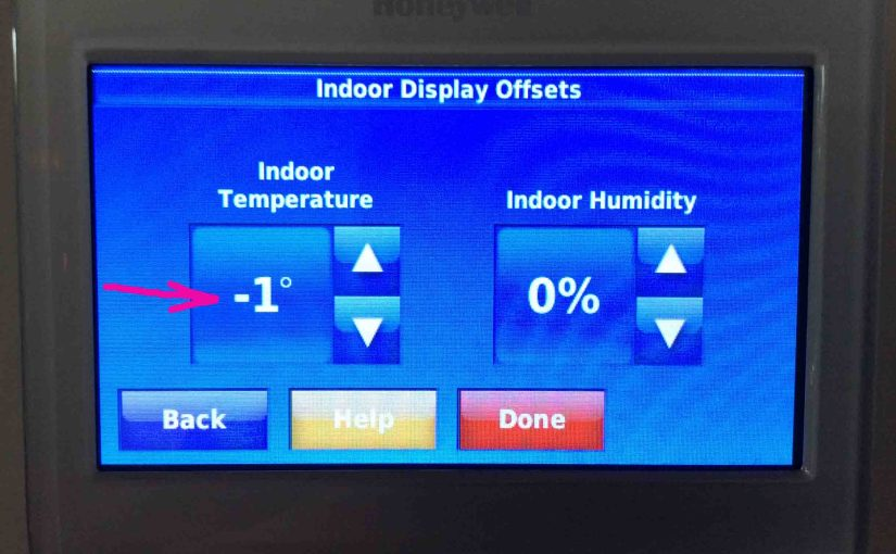 How to Set Honeywell Thermostat Temperature Offset