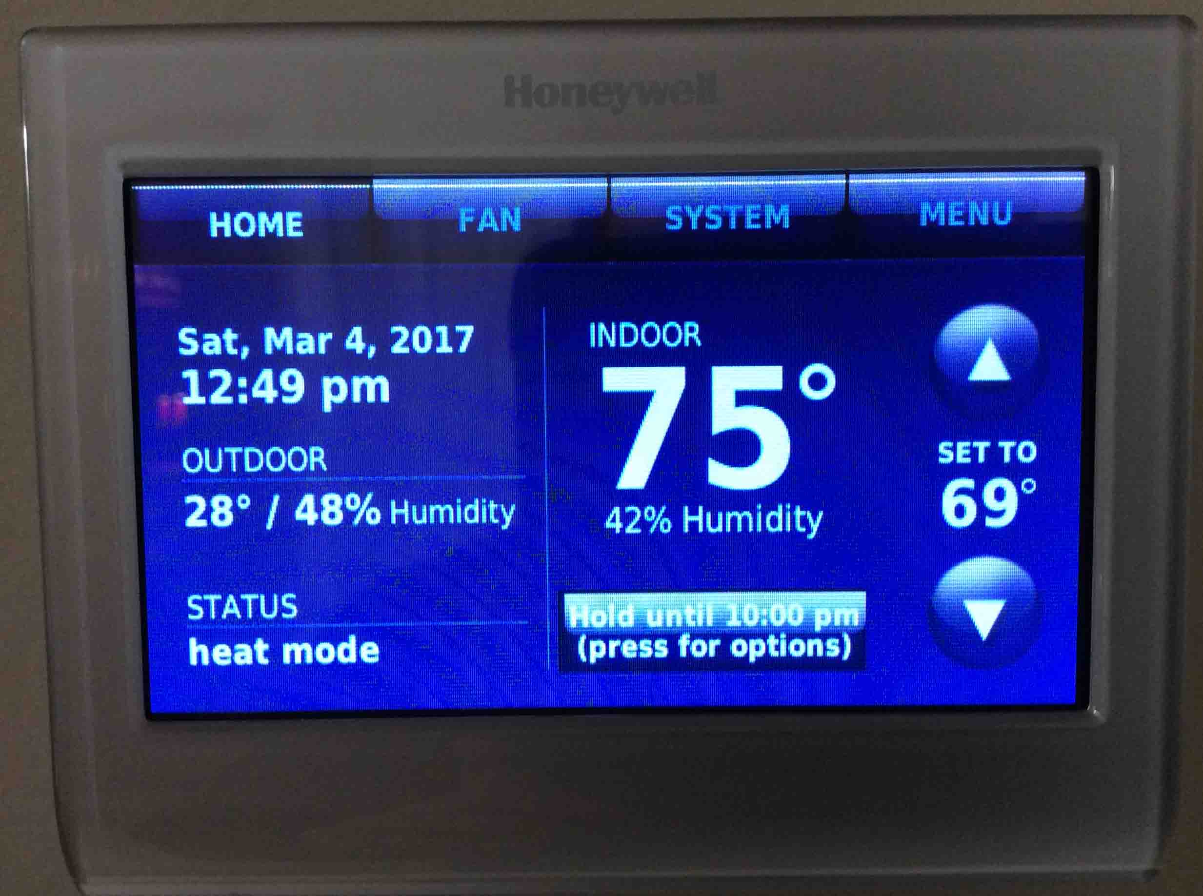 Honeywell Thermostat Not Reaching Set Temperature