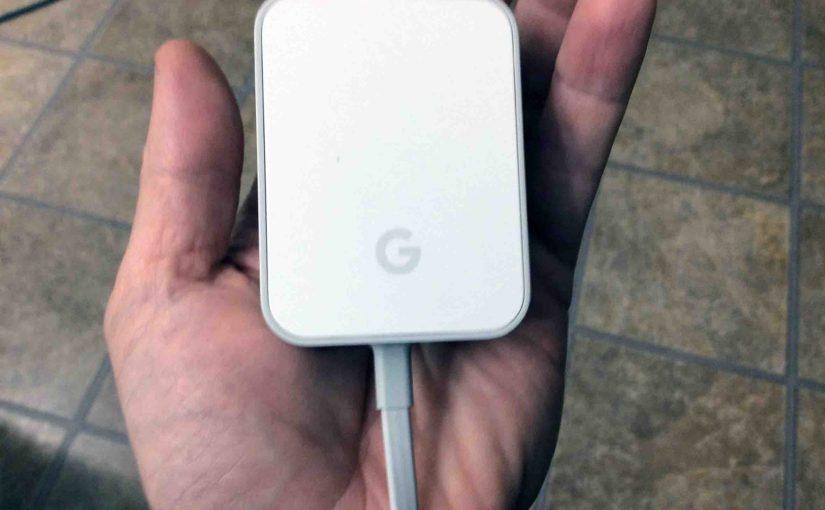 Google Home Power Supply Specs