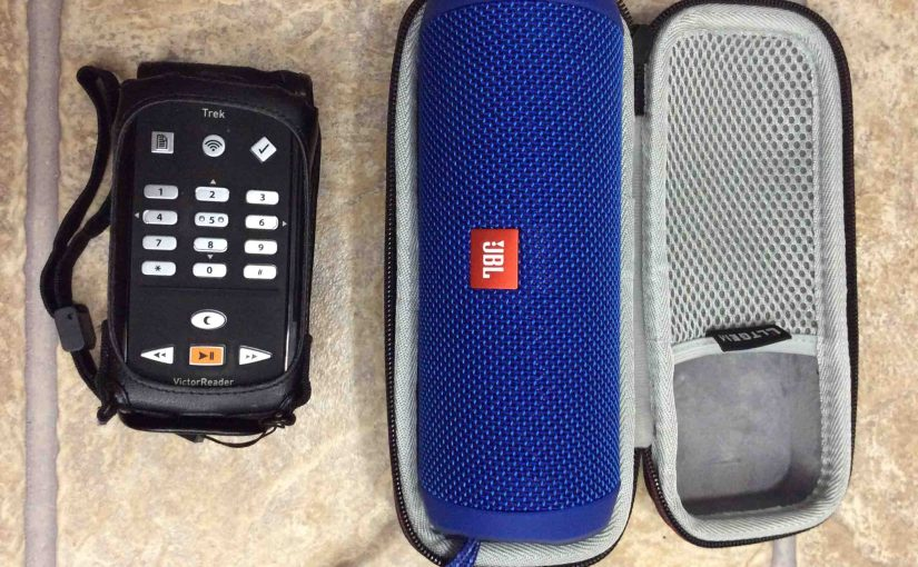 How to Pair Victor Reader Trek with JBL Flip 4 Wireless Speaker