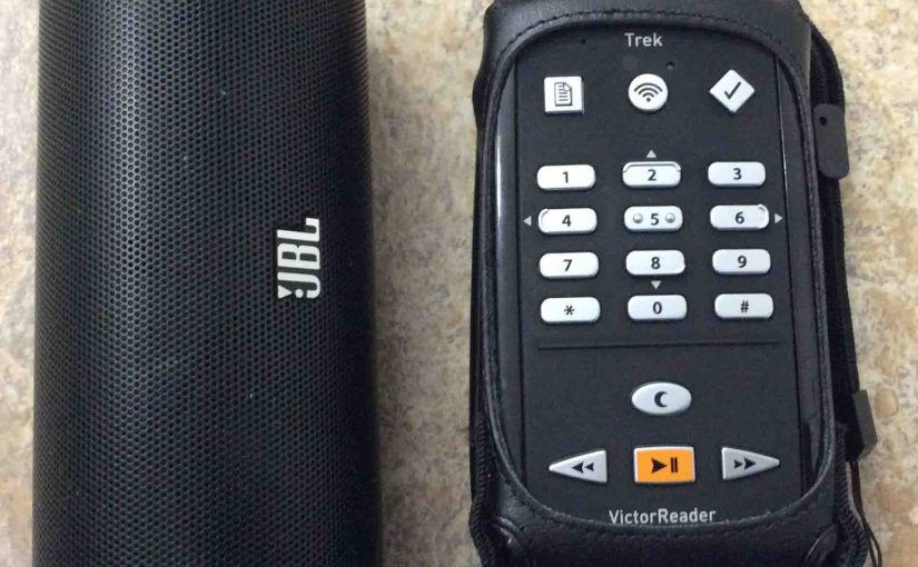 How to Pair Victor Reader Trek with JBL Flip 2 Portable Bluetooth Speaker