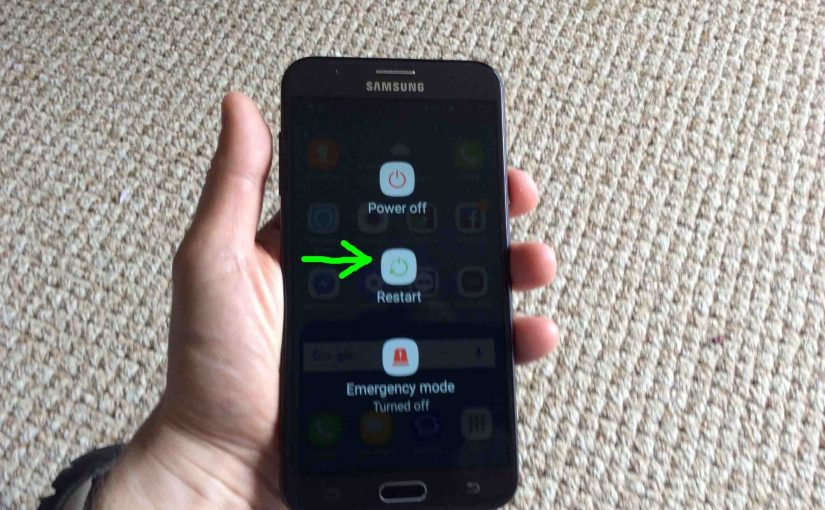 How to Restart Samsung Galaxy J7 Android Phone