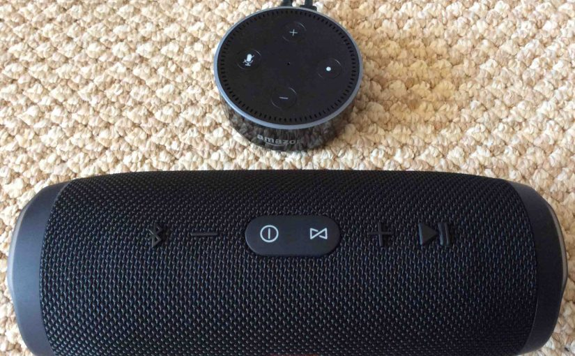 Pairing JBL Charge 3 with Amazon Alexa Echo Dot Speakers, How To