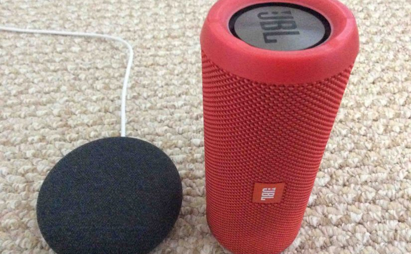 Pairing JBL Flip 3 to Google Home