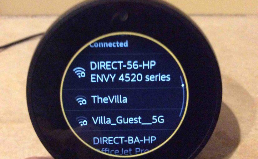 How to Set Up Alexa Echo Spot Touchscreen Speaker