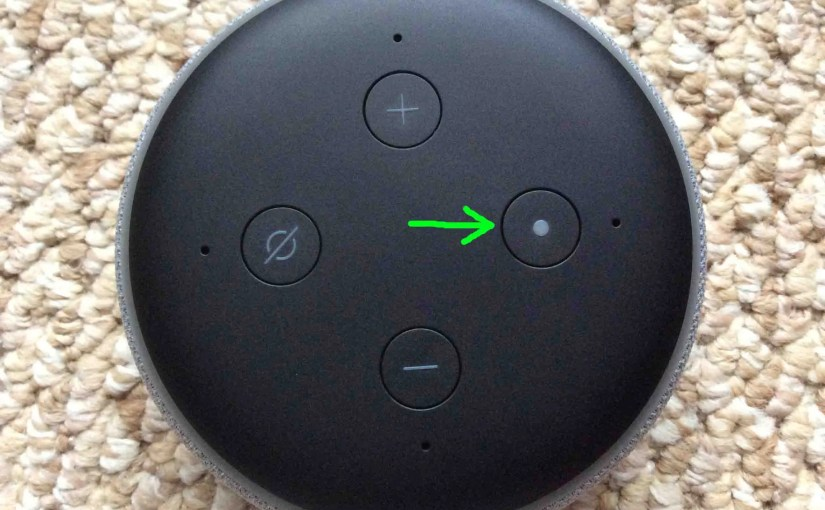 Reset Echo Dot 3rd Gen Alexa Speaker, How To