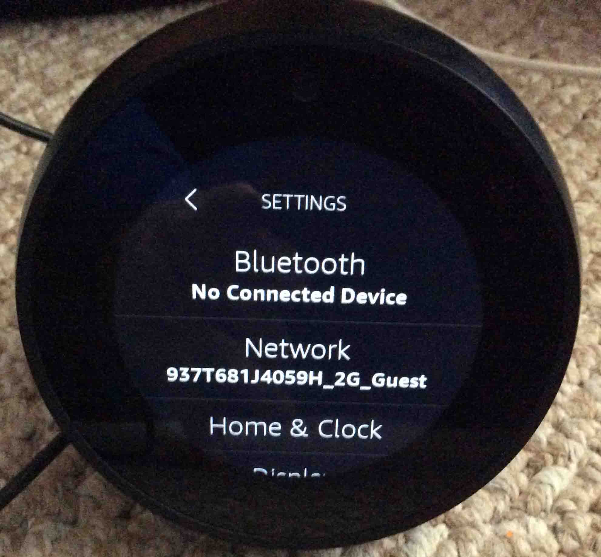 how to do a firmware update on amazon echo