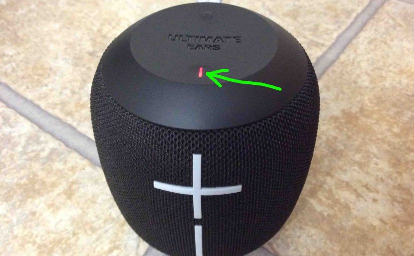 How to Charge UE Wonderboom Speaker