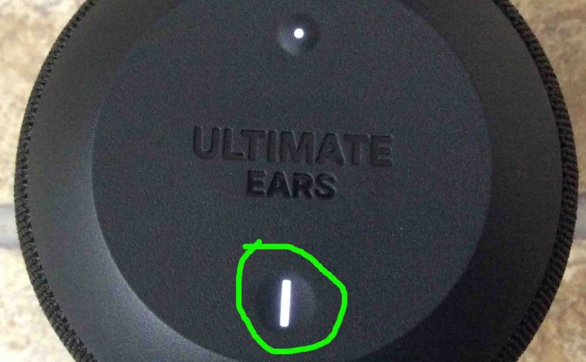 How to Put Ultimate Ears Wonderboom in Pairing Mode