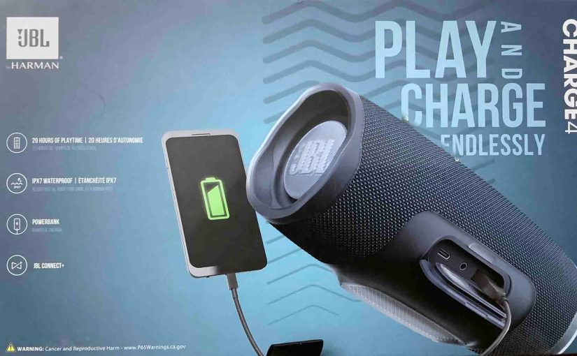 JBL Charge 4 Charging Instructions, How to Recharge
