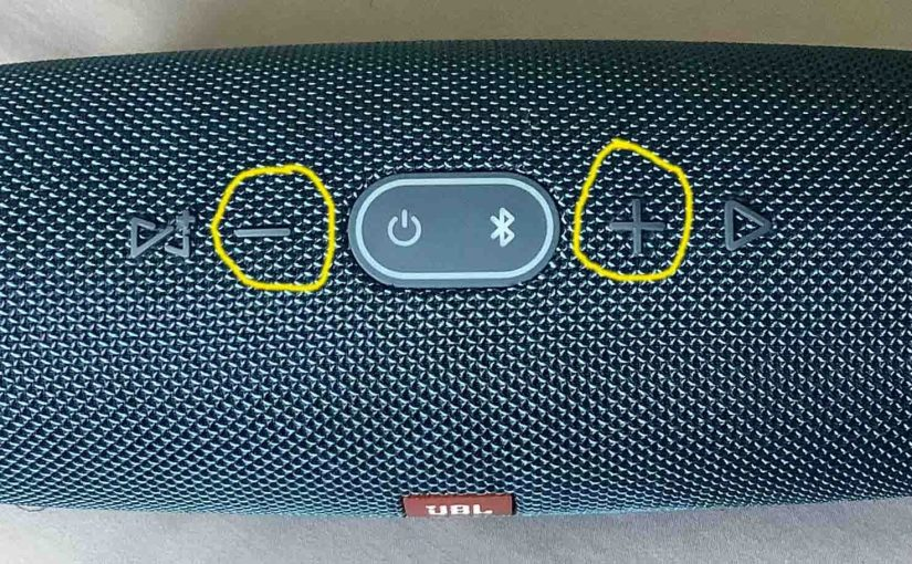 JBL Charge 4 Buttons, Codes, Combinations, Meanings