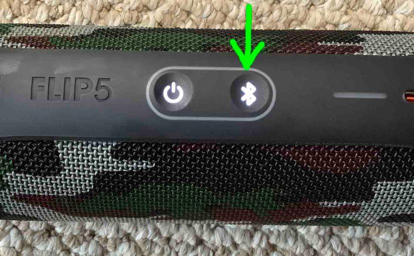 JBL Flip 5 Speaker Pairing Instructions