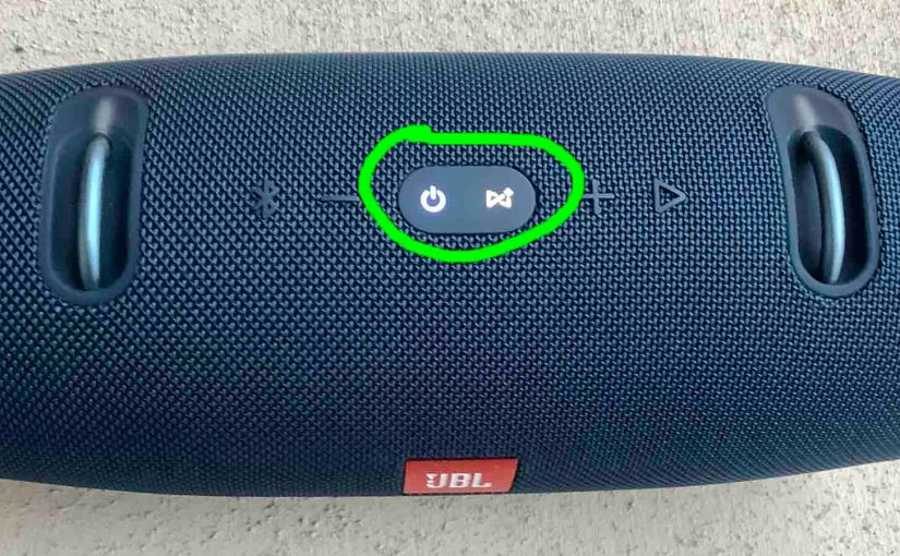 JBL Xtreme 2 Factory Reset Instructions