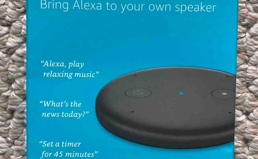 Amazon Echo Input Setup Instructions for this Alexa