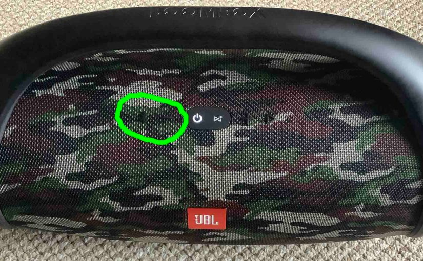 JBL Boombox Low Frequency Mode, Extra Bass