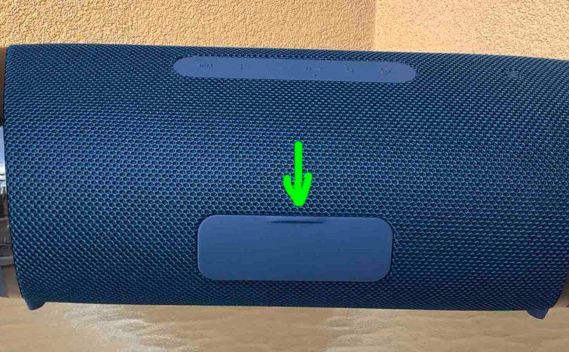 Sony SRS XB43 Charging Instructions